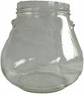 Kozarec glass jar, pokrovi T.O. 100